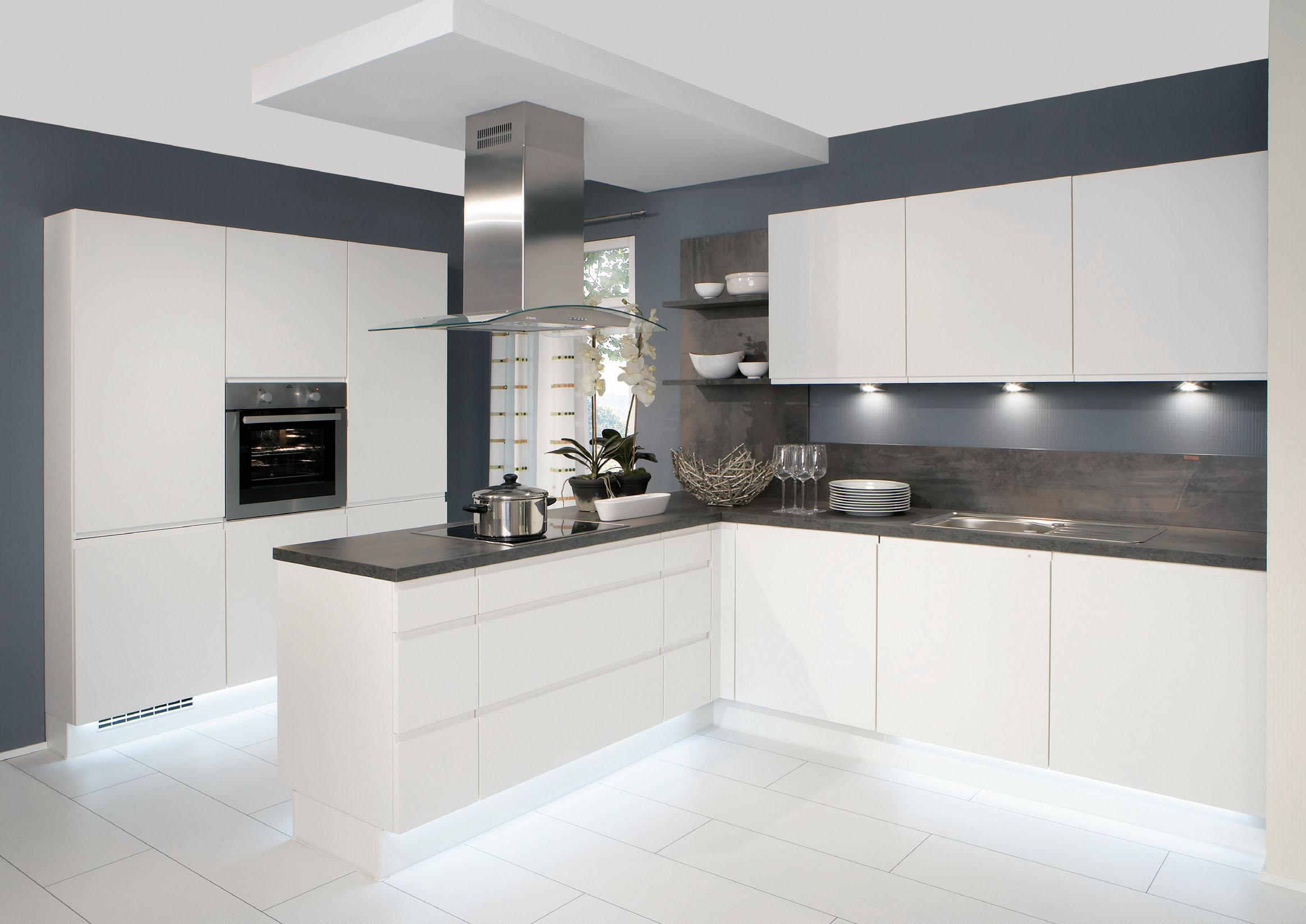 Cocina en forma de L modelo Speed & Rio Cocina con isla de cocción ...